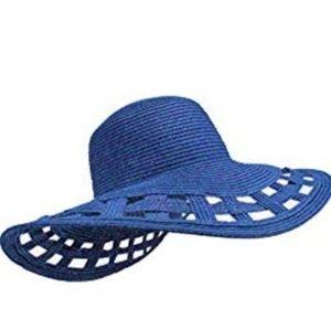 Beach hat blue